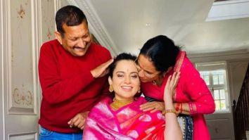 Kangana Ranaut celebrates her 33rd birthday with her family in Manali