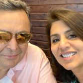 Neetu Kapoor and Rishi Kapoor are all smiles as they pose for a selfie