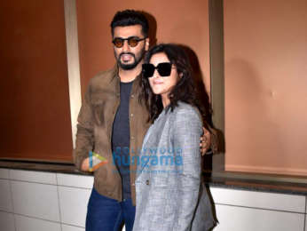 Photos: Arjun Kapoor and Parineeti Chopra snapped during Sandeep Aur Pinky Faraar promotions