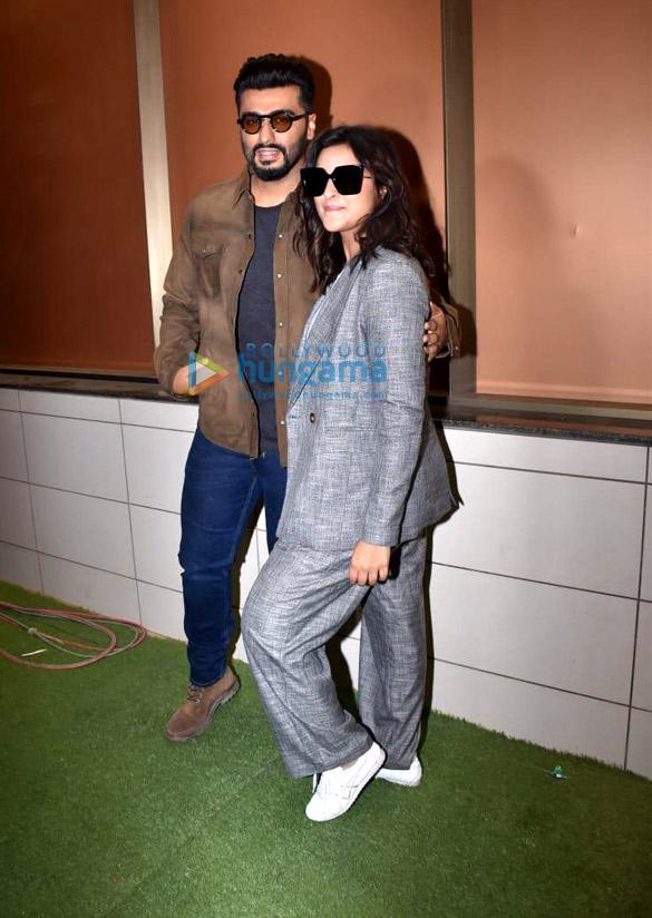 Photos: Arjun Kapoor and Parineeti Chopra snapped during Sandeep Aur Pinky Faraar promotions