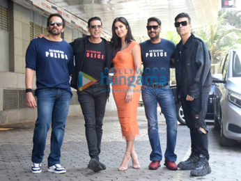 Photos: Celebs grace the trailer launch of the film Sooryavanshi