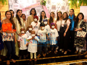 Photos: Geeta Basra, Farah Khan Ali snapped at Helping Hands Foundation event