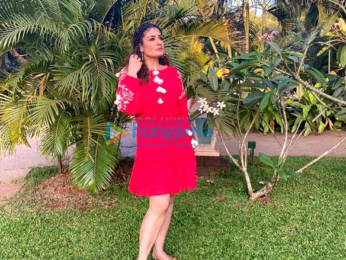 Photos: Raveena Tandon poses for pictures