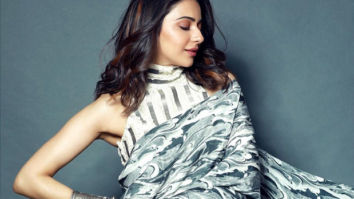 Rakul Preet Singh looks spectacular in her latest intergalactic saree-clad look