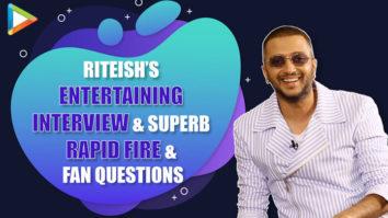 Riteish Deshmukh's ENTERTAINING Interview on Akshay, SRK, Tiger EPIC Rapid Fire & Fan Questions