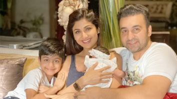Shilpa Shetty shares new family photo as daughter Samisha turns 40 days old