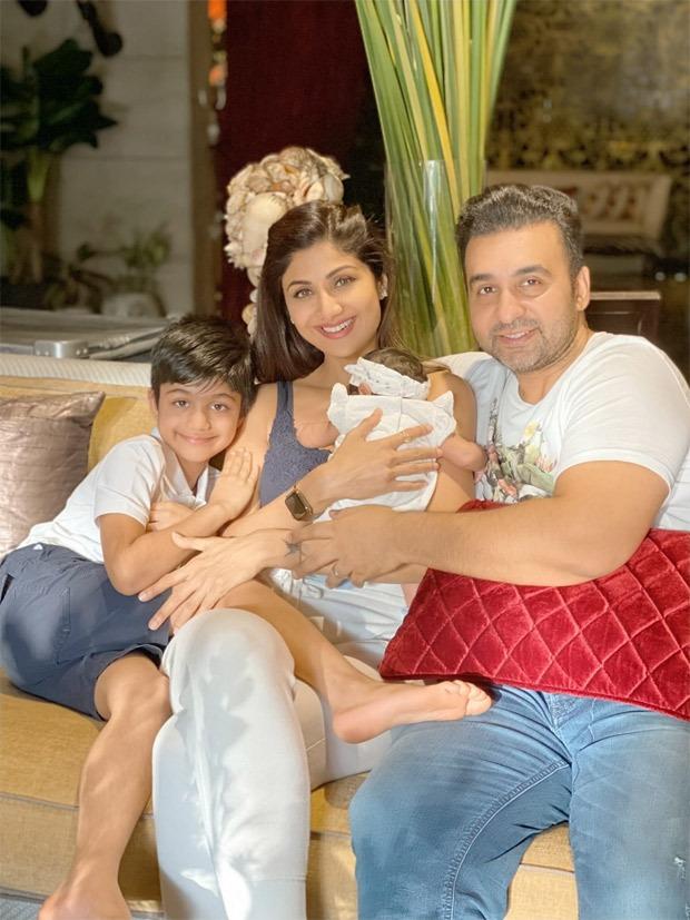 Shilpa Shetty shares new family photo as daughter Samisha turns 40 days old