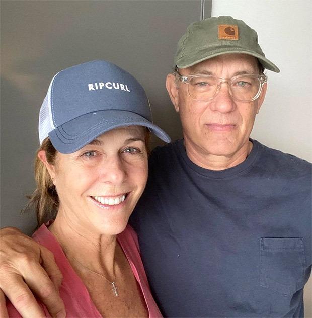 Tom Hanks shares first photo with wife Rita Wilson after Coronavirus detection