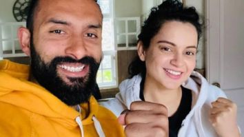 VIDEO Kangana Ranaut does not want to miss her workout even during the Coronavirus lockdown