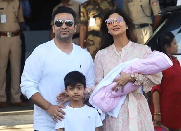 Shilpa Shetty and Raj Kundra bring baby Samisha home. See first pics