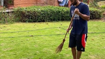 Arjun Kapoor trolls Aditya Roy Kapur after the latter shares a picture of him holding a broom