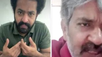 Jr NTR perfects the Tamil dialogues for RRR on a video call with Rajamouli