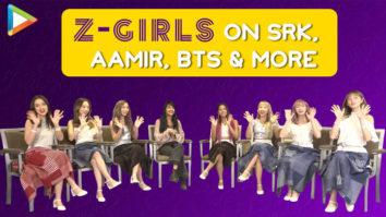 Z-Girls CONFESS their love for Shah Rukh Khan, Aamir Khan, perform on BTS song Z-Pop