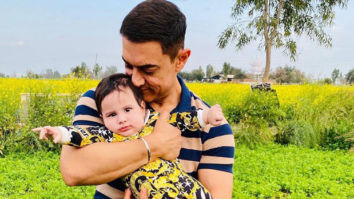 Aamir Khan adorably poses with Gippy Grewal's son Gurbaaz, see photos