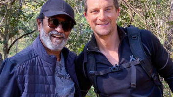 Rajinikanth teaches Bear Grylls to wear sunglasses in his style in the latest promo of Into The Wild