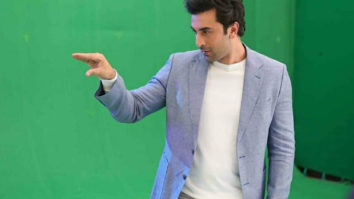Check out the BTS pictures of Ranbir Kapoor shooting for the latest Oppo ad