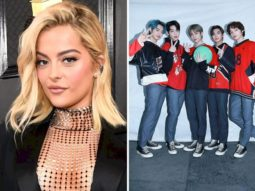 Bebe Rexha chatted with K-pop group Tomorrow x Together and TXT leader Soobin is winning at fanboy life