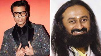 Karan Johar to speak with Sri Sri Ravi Shankar during live interactive series, Heart To Heart