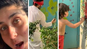 Kareena Kapoor Khan marvels at Saif Ali Khan and Taimur Ali Khan's artistic skills