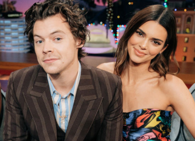 Kendall Jenner goes on a vintage convertible ride with rumoured boyfriend Fai Khadra, ex beau Harry Styles joins on a motorcycle