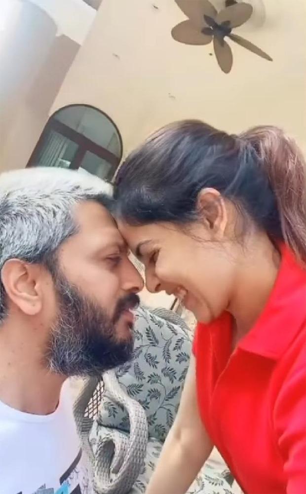 Madhuri Dixit reacts to Riteish Deshmukh and Genelia D'Souza romance-filled 'Saajan' Tik Tok video amid quarantine