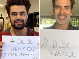 Maniesh Paul joins Akshay Kumar in campaign Dil Se Thank You