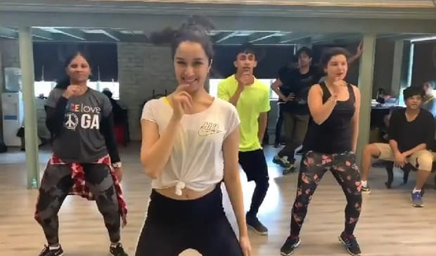 Shraddha Kapoor shares a rehearsal dance video of 'Fikar Not' from Chhichhore on World Health Day