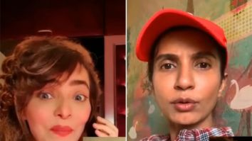 Sweety and Kajal of Hum Paanch reunite on video call to make a huge announcement amid lockdown