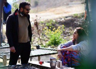 Taapsee Pannu shares a photo from Manmarziyaan set, calls Anurag Kashyap 'chachji'