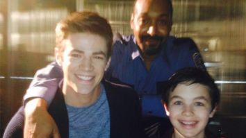 The Flash actor Grant Gustin pays tribute to 'young Barry Allen' Logan Williams who passed away at age 16