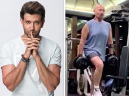 """I think the virus should be afraid of him,"" says Hrithik Roshan while sharing a video of Rakesh Roshan's intense workout"