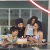 Owing to the lockdown, Allu Arjun has a cozy birthday celebration with his family