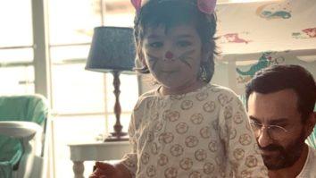 Kareena Kapoor celebrates Easter with her Easter Bunnies - Taimur and Saif Ali Khan