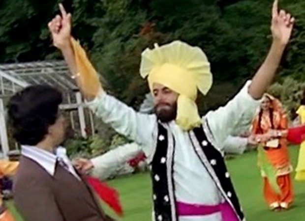 Amitabh Bachchan shares a throwback picture of himself dressed as a Sikh on Baisakhi