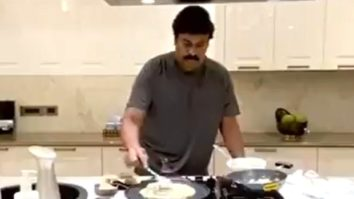 Watch: Chiranjeevi takes up the Real Man Challenge and nominates Rajinikanth