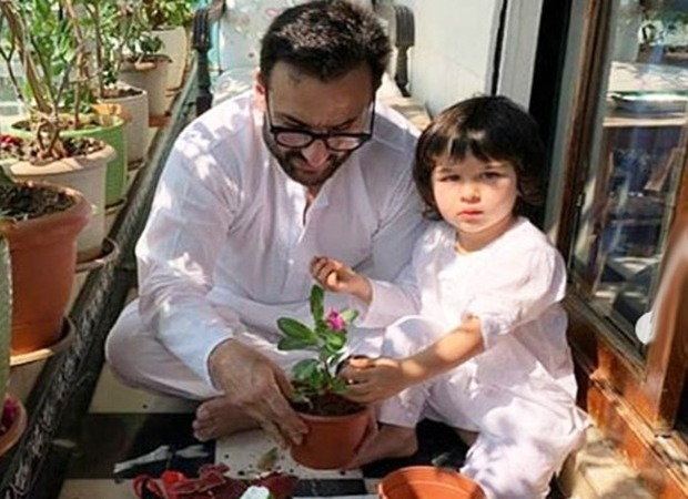 Saif Ali Khan talks about how Taimur is coping with the lockdown