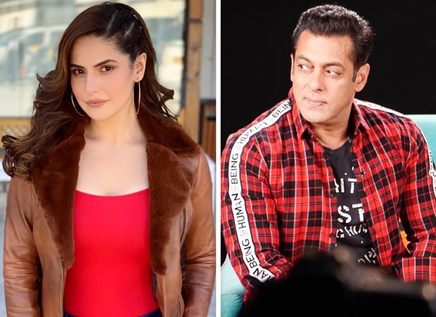 "Zareen Khan speaks about Salman Khan, says, ""If I need his help, I know he's just a call away"""