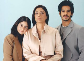 A Suitable Boy Tabu, Ishaan Khatter, Tanya Maniktala look urbane and tasteful as they feature on British Vogue magazine