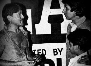 Abhishek Bachchan shares a throwback picture with Amitabh Bachchan and Jackie Shroff, says he still looks up to them