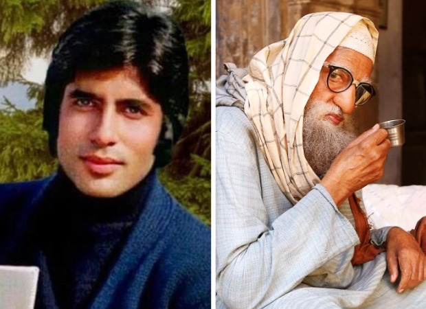 Amitabh Bachchan shares details of his journey from Kabhi Kabhie to Gulabo Sitabo with a collage