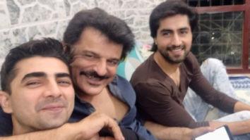 Bepannaah's Harshad Chopda and Shehzad Shaikh are in awe of their reel life father Rajesh Khattar's son Vanraj
