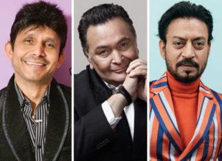 FIR registered agajnst Kamaal R Khan for his derogatory remarks against Rishi Kapoor and Irrfan Khan