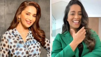 Madhuri Dixit receives a nostalgia filled birthday message from Lilly Singh