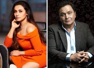 Rani Mukerji fondly remembers Rishi Kapoor on Hum Tum's 16th anniversary