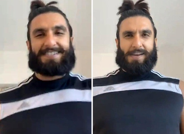 Ranveer Singh plays 'Eye Of The Tiger' while working out, sends positive vibes to fans