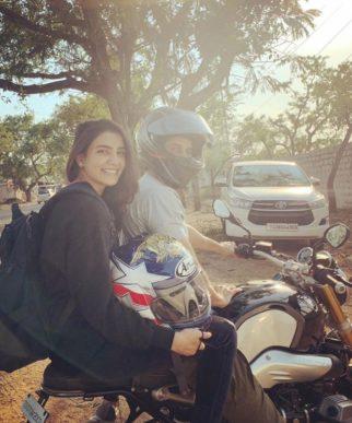 Samantha Prabhu Akkineni goes on a bike ride with husband Naga Chaitanya