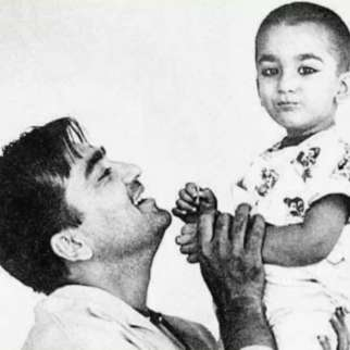 """Sanjay Dutt shares a childhood photo on death anniversary of Sunil Dutt, says """"miss you today and everyday dad"""""""
