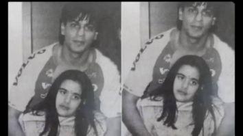 Sanjay Dutt's daughter Trishala Dutt shares unseen photo with Shah Rukh Khan