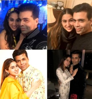Sara Ali Khan shares a collage of beautiful memories on Karan Johar's 48th birthday
