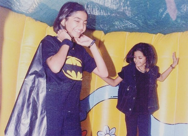 Sonam Kapoor Ahuja calls herself a nerd as she shares a picture of herself in a DIY Batman costume